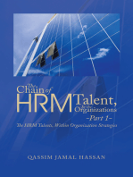 The Chain of Hrm Talent in the Organizations - Part 1