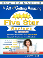How to Master the Art of Getting Amazing Five Star Reviews - The Introduction