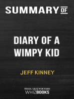 Summary of Diary of a Wimpy Kid