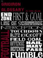 The Gridiron Glossary