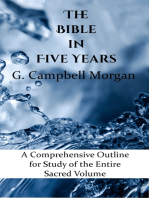 The Bible in Five Years