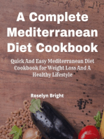 A Complete Mediterranean Diet Guide for Beginners