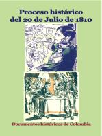 Proceso histórico del 20 de julio de 1810
