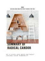 Summary of Radical Candor