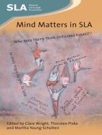 Mind Matters in SLA