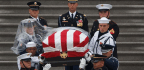 Pomp, Grandeur And Bipartisan Tributes At Farewell For McCain, As An Uninvited President Looms