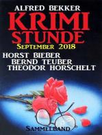 Krimi-Stunde September 2018