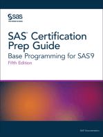 SAS Certification Prep Guide