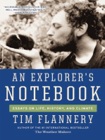 An Explorer's Notebook
