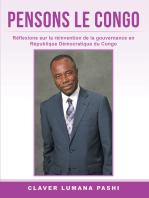 Pensons Le Congo