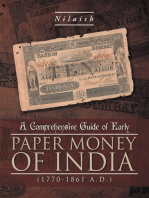 A Comprehensive Guide of Early Paper Money of India (1770-1861 A.D.)