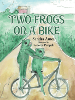 Two Frogs on a Bike