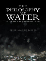The Philosophy of Water