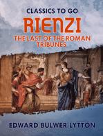 Rienzi, the Last of the Roman Tribunes