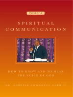 Spiritual Communication
