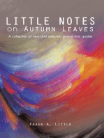 Little Notes on Autumn Leaves