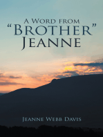 """A Word from """"Brother"""" Jeanne"""