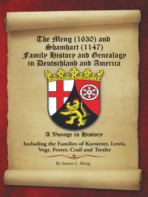 The Meng (1630) and Shamhart (1147) Family History and Genealogy in  Deutschland and America  by James L  Meng - Read Online