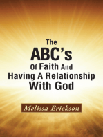 The Abc's of Faith and Having a Relationship with God