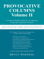 Provocative Columns Volume Ii