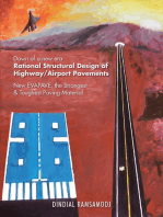 Rational Structural Design of Highway/Airport Pavements: New Evapave, the Strongest & Toughest Paving Material