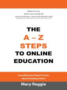 The A-Z Steps to Online Education: Everything You Need to Know About Studying Online