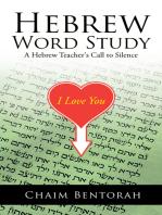 Hebrew Word Study