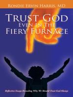 Trust God Even in the Fiery Furnace