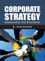 Corporate Strategy: Managing the Business