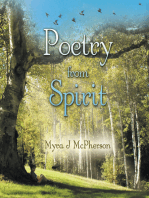 Poetry from Spirit