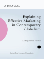 Explaining Effective Marketing in Contemporary Globalism