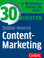 30 Minuten Content-Marketing