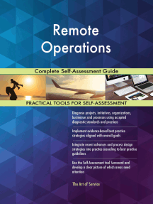 Remote Operations Complete Self-Assessment Guide