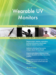 Wearable UV Monitors Standard Requirements