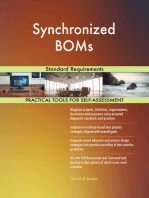 Synchronized BOMs Standard Requirements