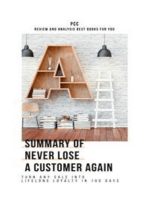Summary of Never Lose a Customer Again