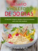 Desafio Whole Food de 30 Dias