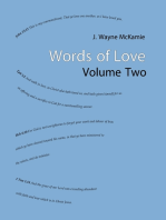 Words of Love Volume Two
