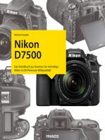 Kamerabuch Nikon D7500