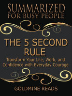 The 5 Second Rule - Summarized for Busy People