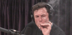 Elon Musk Smokes A Blunt Live On YouTube, Tesla Executives Quit, And Stock Drops