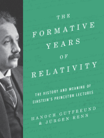 The Formative Years of Relativity