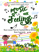 Music With Feelings: Music Lesson Plans for Teachers With or Without Music Experience