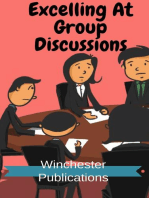 Excelling At Group Discussions