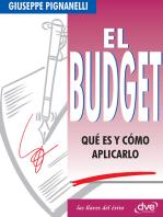 El Budget. Qué es y cómo aplicarlo