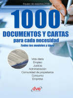 1000 documentos y cartas para cada necesidad