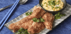 Home-made Crispy Cantonese Fried Fish With Corn Sauce, An Easy To Make And Delicious Dish
