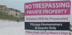 Private Beaches In Florida Spark Battle With Residents And County