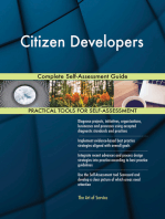 Citizen Developers Complete Self-Assessment Guide