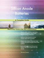Silicon Anode Batteries A Complete Guide